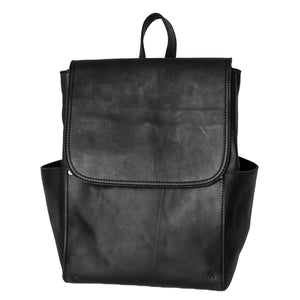 leather backpack full grain womens