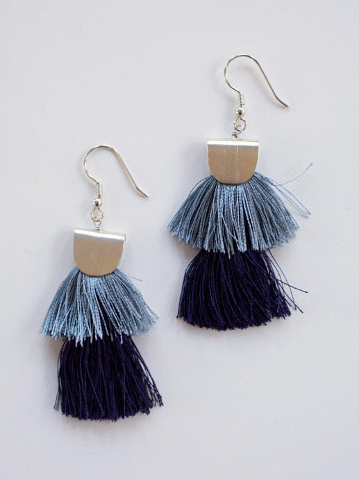 Cozumel Tassel Earrings