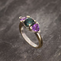 Plumbago Mountain Tourmaline Ring