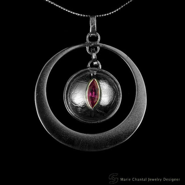 """The Eye Has It"" Tourmaline Pendant"