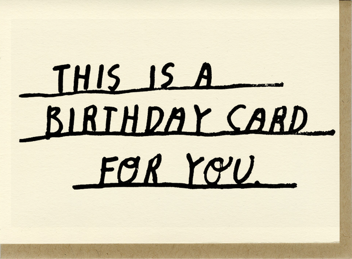 Birthday Card For You - C1000