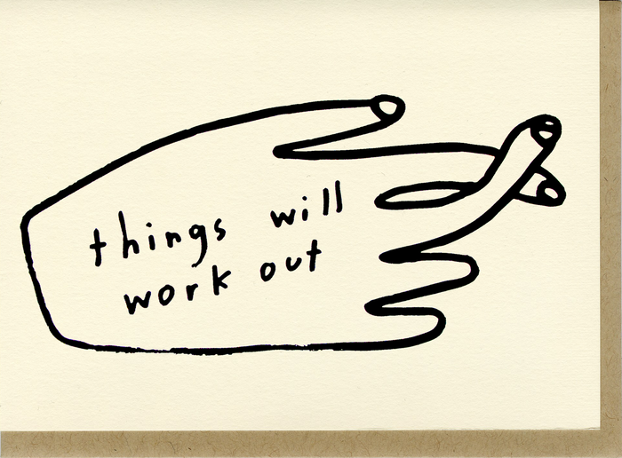 Things Will Work Out - C5012
