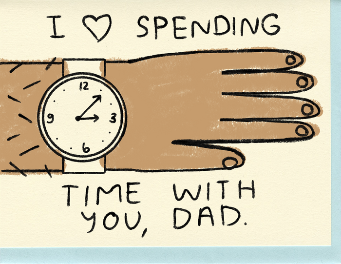 Dad, I Love Spending Time With You - C7069