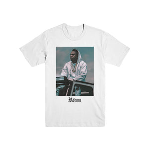 Rotimi - Jeep Photo (White) T-Shirt