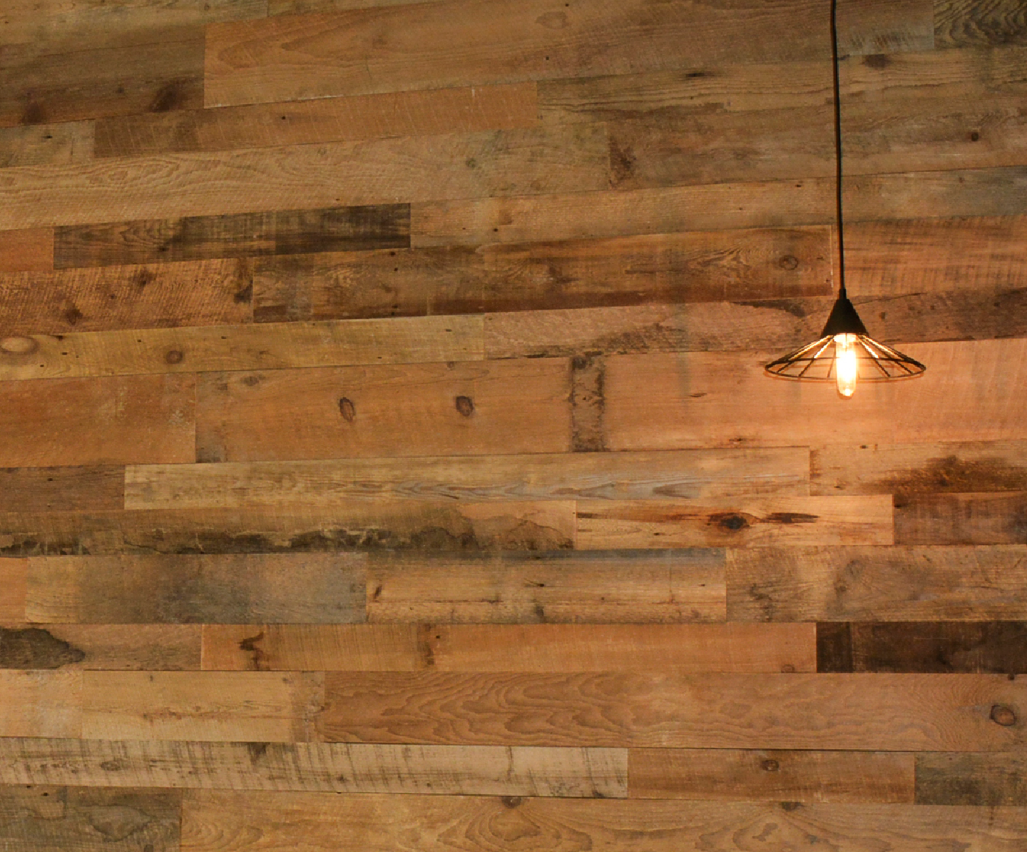 custom accent barn wood wall