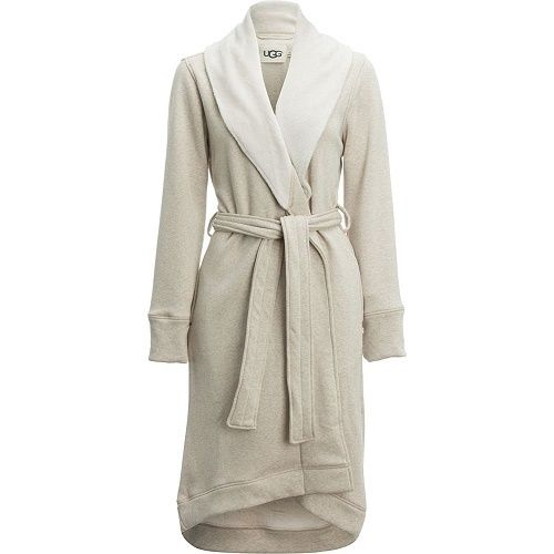 UGG Women's Duffield Robe Oatmeal Heather Small