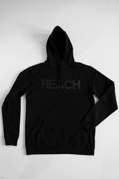 Black on Black REACH/ESCAPE Hoodie