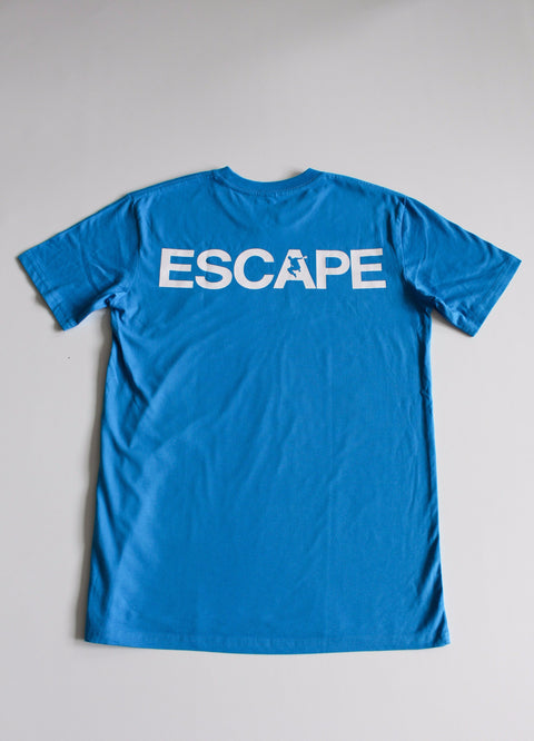 Blue REACH/ESCAPE - parkour t-shirt