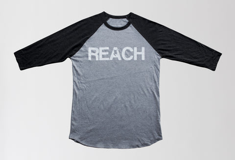 Concrete/Asphalt - REACH/ESCAPE - raglan parkour t-shirt