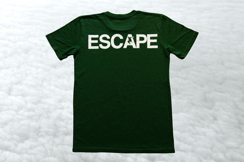 Green REACH/ESCAPE - parkour t-shirt
