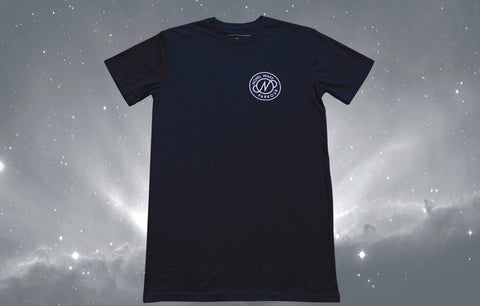 Novel Ways Logo Tall Tee - Navy