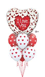 Large I Love You Heart Balloon Gift