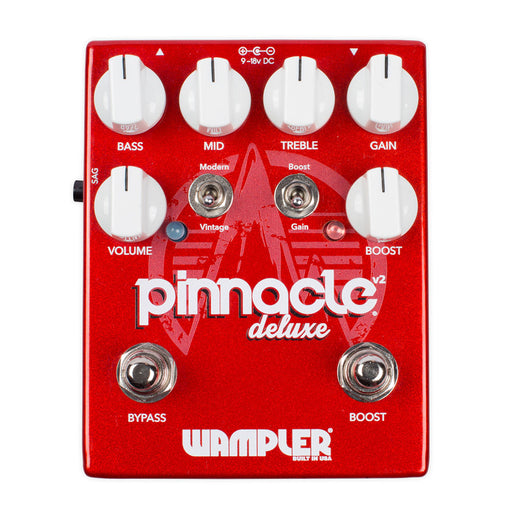 Wampler Pedals Pinnacle Deluxe Overdrive Distortion EVH Brown Sound
