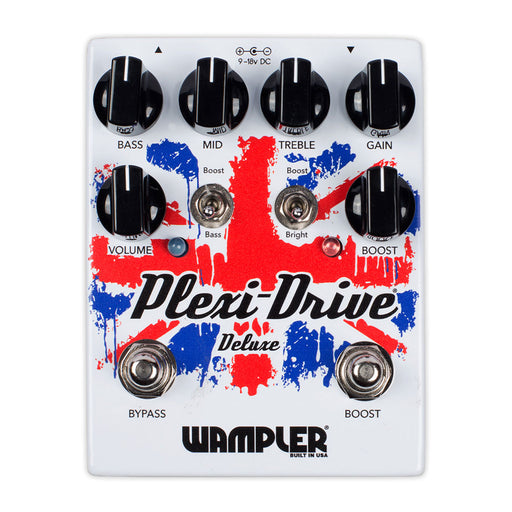 Wampler Pedals Plexi Drive Deluxe Historic British Stack Tone