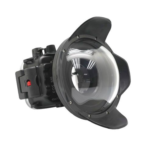 Canon EOS M6 40m/130ft Underwater Camera Housing with Dry dome port - A6XXX SALTED LINE