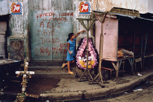 Susan Meiselas: Memorial honoring student martyrs who were killed in the attack on the market. Juigalpa, Nicaragua, 1978