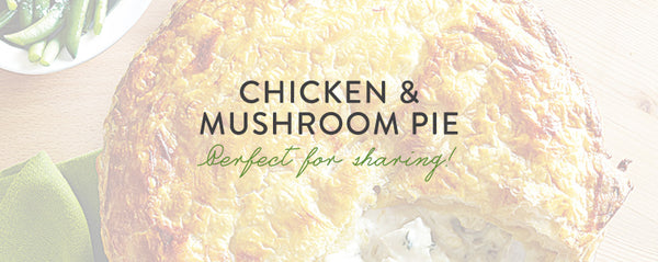 Victoria's Chicken and Mushroom Pie