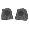Image of Innovative Technology Pair of Wireless Waterproof Rechargeable Bluetooth Outdoor Rock Speakers. Main