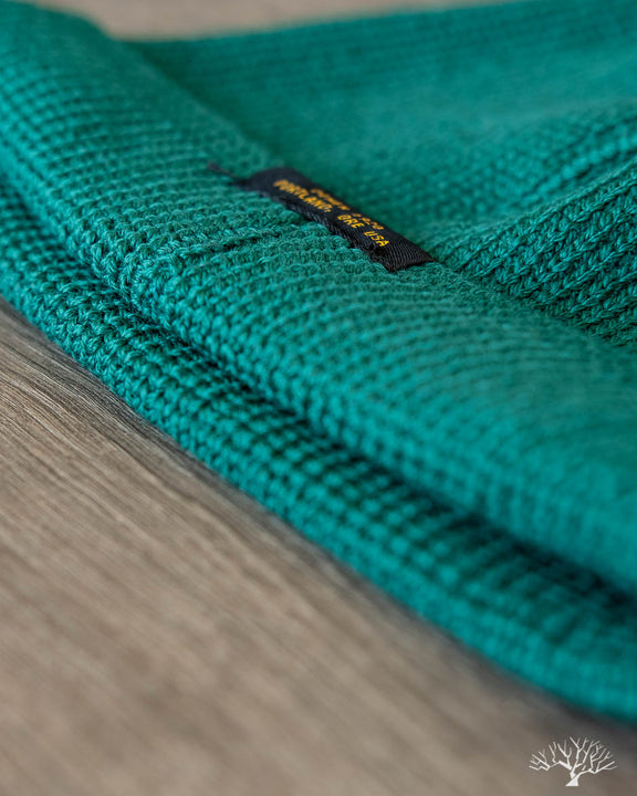 Wool Knit Watch Cap - Emerald