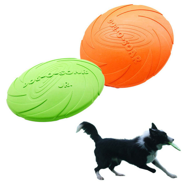 NEW Dog Flying Disc - Tooth Resistant  -Training Fetch Toy Frisbee