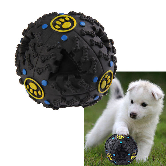 Funny Pet Food Dispenser Toy Ball - 7.5cm