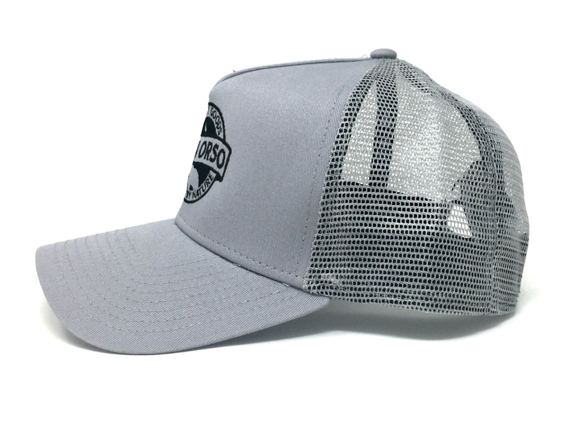 Luna Orso Mesh Hat Light Grey