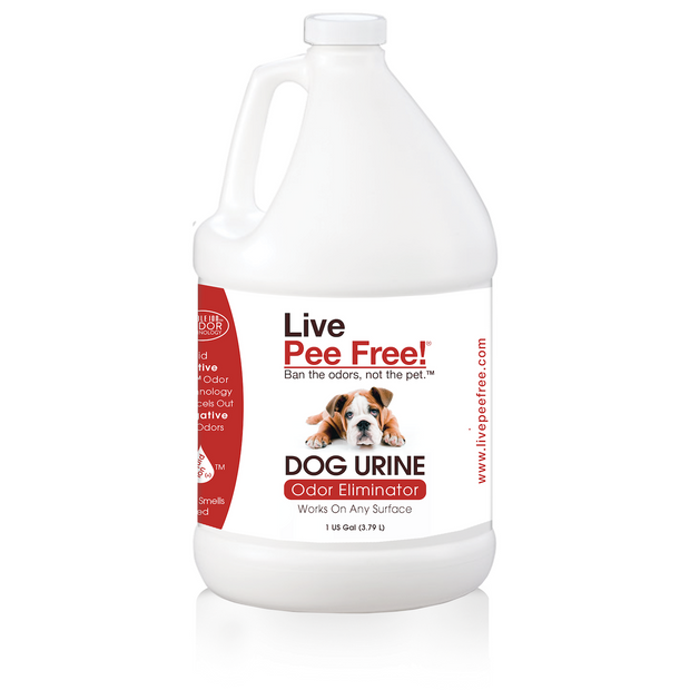 Live Pee Free!® Dog Urine Odor Eliminator - 1 Gallon