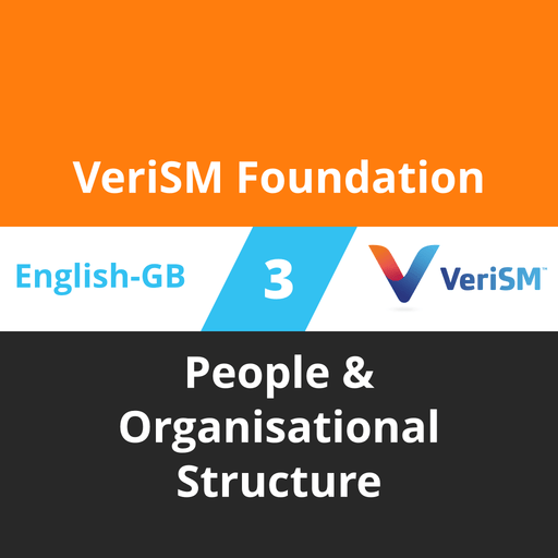 VeriSM Foundation Course - 3 of 6: People & Organisational Structure (en-gb) [Cover]