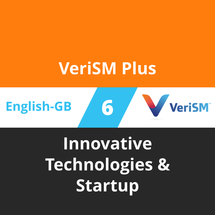 VeriSM Plus Course - 6 of 6: Innovative Technologies & Startup (en-gb) [Cover]