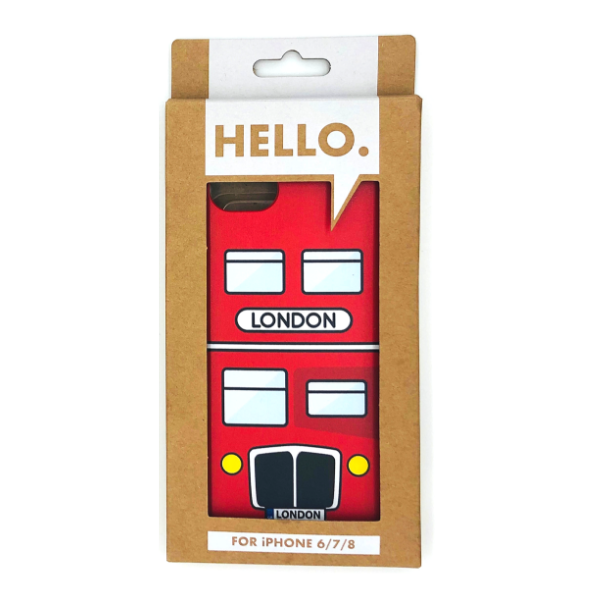London Bus Phone Case - FREE Shipping