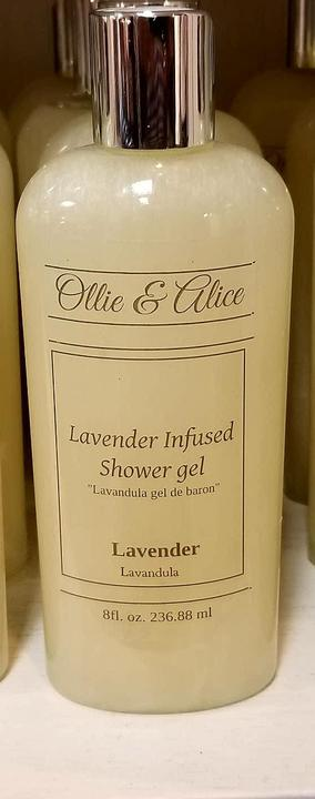 OLLIE & ALICE LAVENDER INFUSED SHOWER/BATH GEL