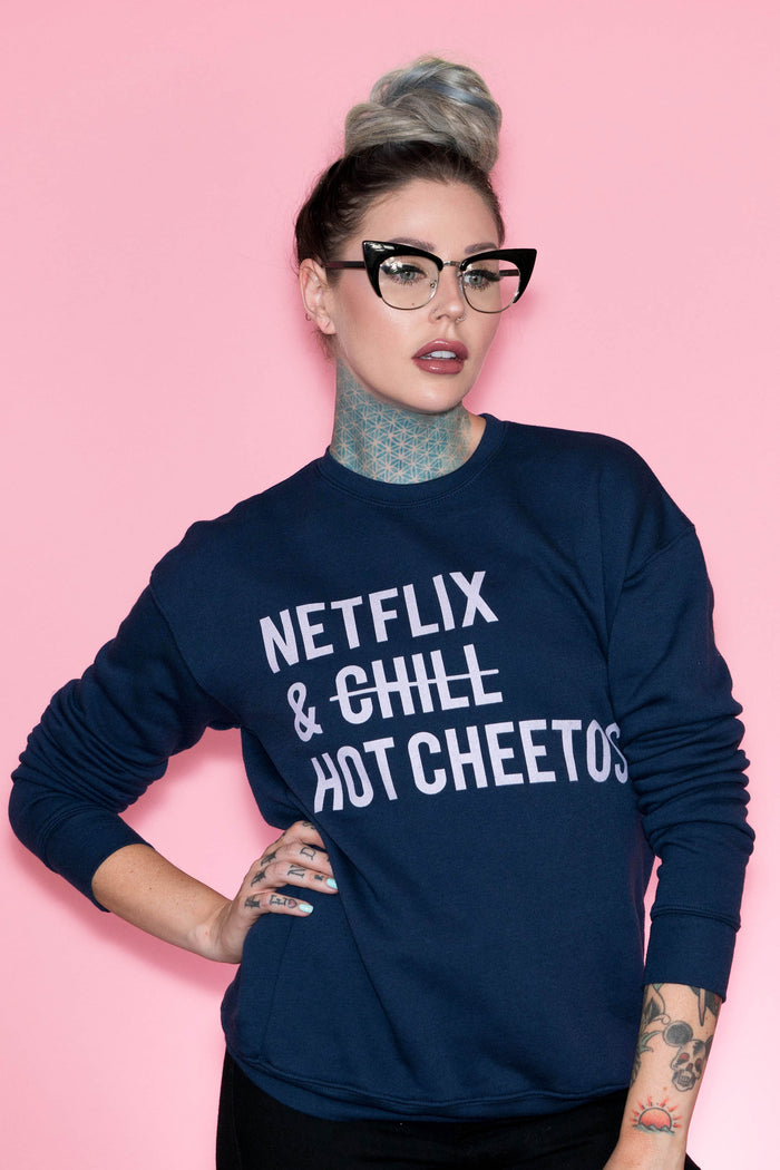 Netflix & Hot Cheetos Sweatshirt