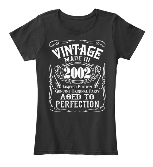 Vintage Age 15 Years 2002 Perfect 15th Birthday Gift