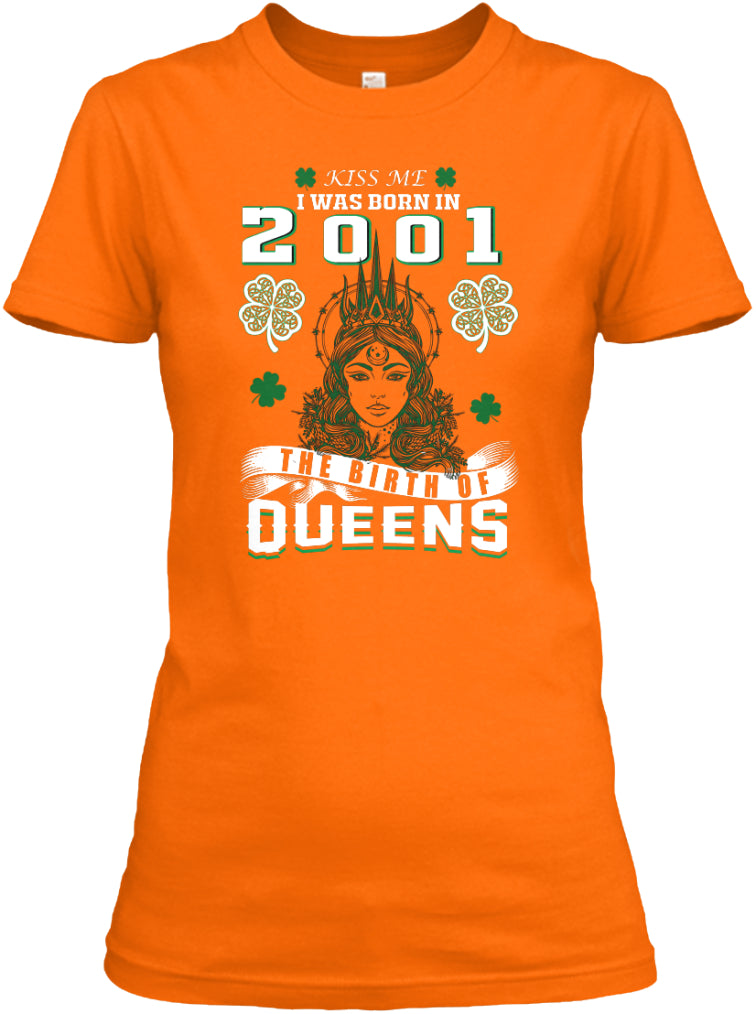 Patrick's Day The Birth of Queens 2001