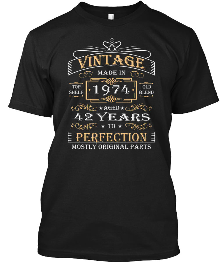 Vintage Age 42 Years 1974 Perfect 42nd B
