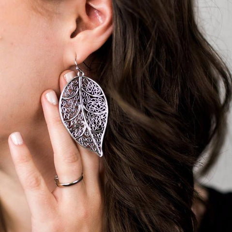 HARPER FILIGREE DROP EARRING