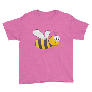 Honey Bee Youth Short Sleeve T-Shirt-t-shirt-PureDesignTees