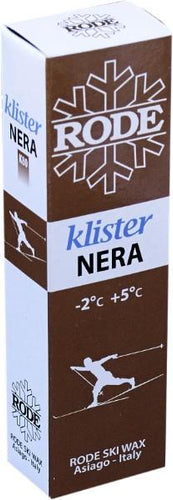 An anti-icing klister made mainly from pine tar.