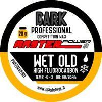 A Low Fluoro Cold Apply wax for Wet, Old snow with Moly additive for dirty snow