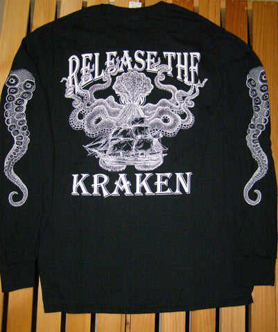 T-Shirt - Release the Kraken Black LS