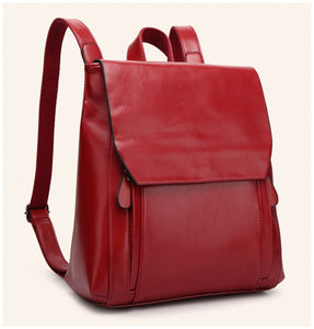 Backpack | Red and Black | For Women