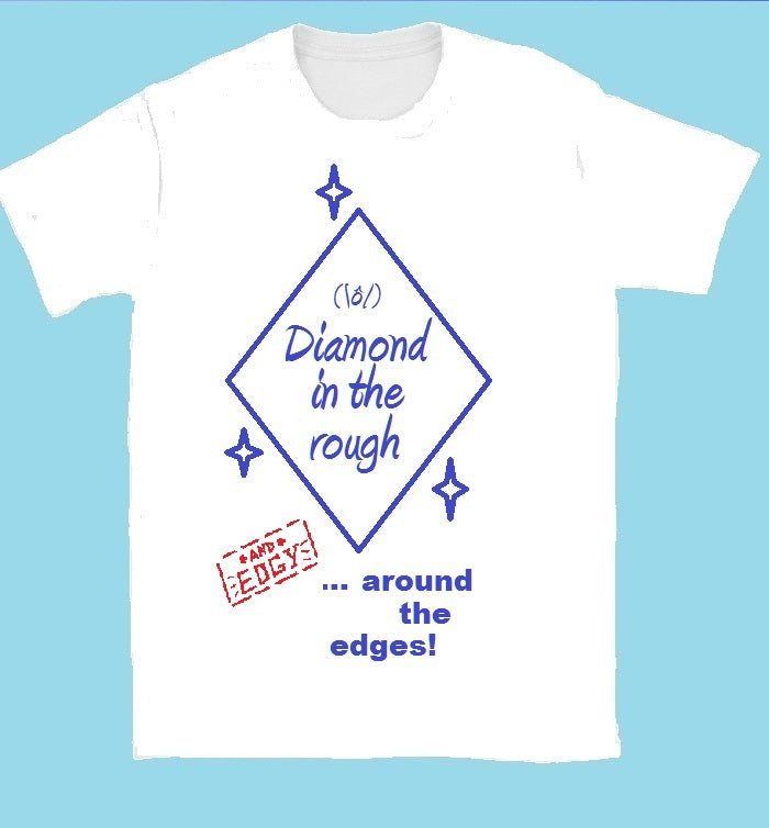 Luminous Diamond RATE Variant Design T-Shirt