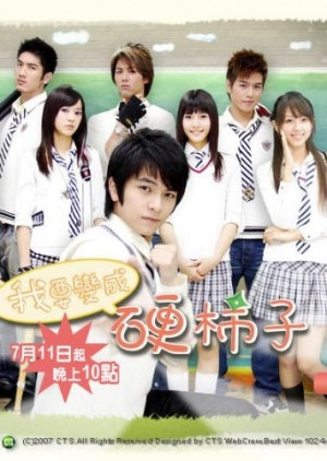 Taiwan drama dvd: I want to become a hard persimmon, english subtitle