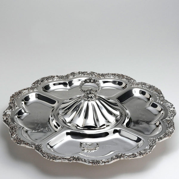 Crown Silver Company Lazy Susan Silver Plated