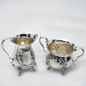 Ambassador Sterling Sugar & Creamer Set