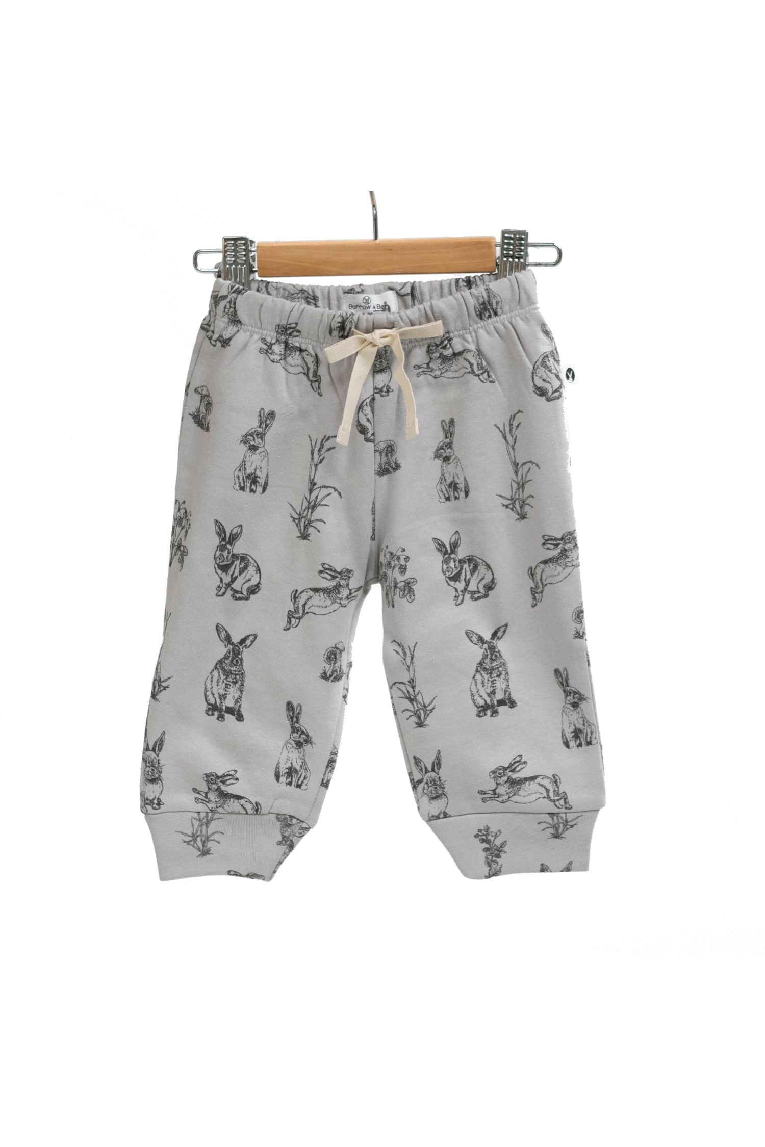 Fleece pants - Grey burrowers