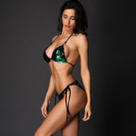Little Venice Green Sequin Bikini Swimsuit - Fashion Genie Boutique