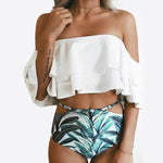 Time for Napa Bardot Bikini Swimsuit Set Fashion Genie Boutique