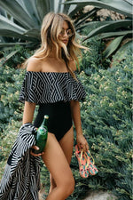 Caribbean Bliss Bardot Swimsuit