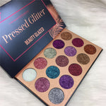 Beauty Glazed 15 Color Pressed Glitter Eyeshadow Palette - Fashion Genie Boutique USA Alt